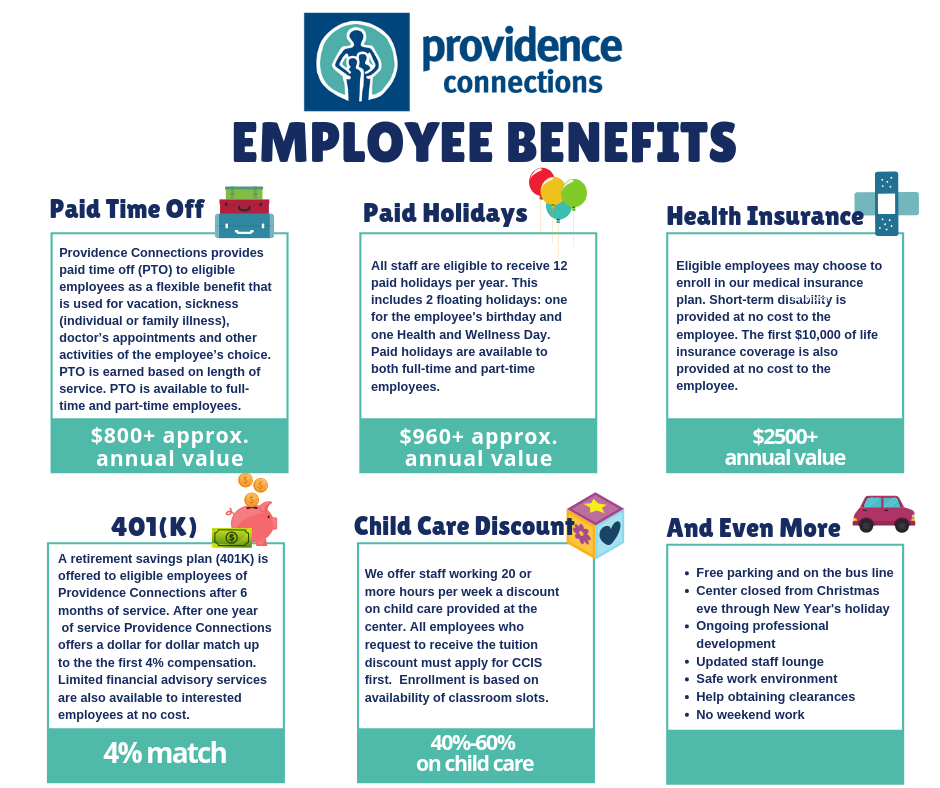 Providence Connections | PC Employee Benefits